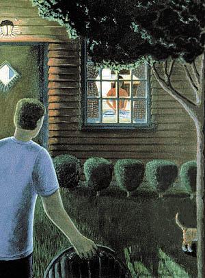 'Night Chores' by Sheryl Humphrey