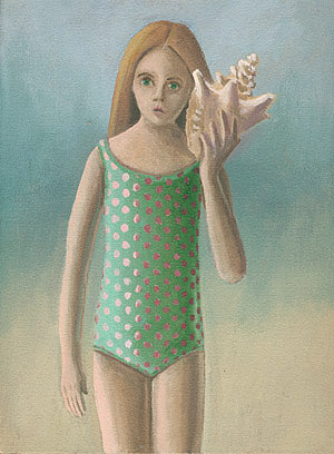 Girl with Shell